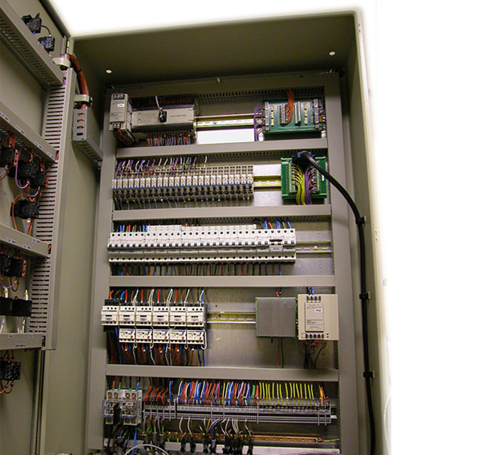 Control cabinet for R4 facility