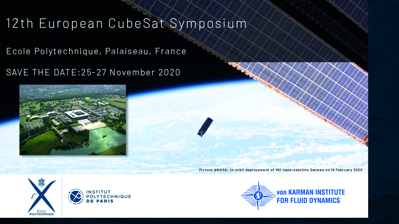 12th European CubeSat Symposium