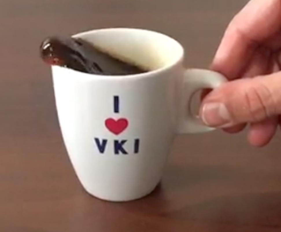 Sloshing in a VKI cup