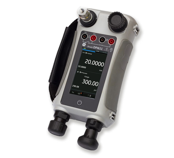 Pressure sensors calibration full series of Druck calibrators from 2.5 [mbar] up to 20 [bar]